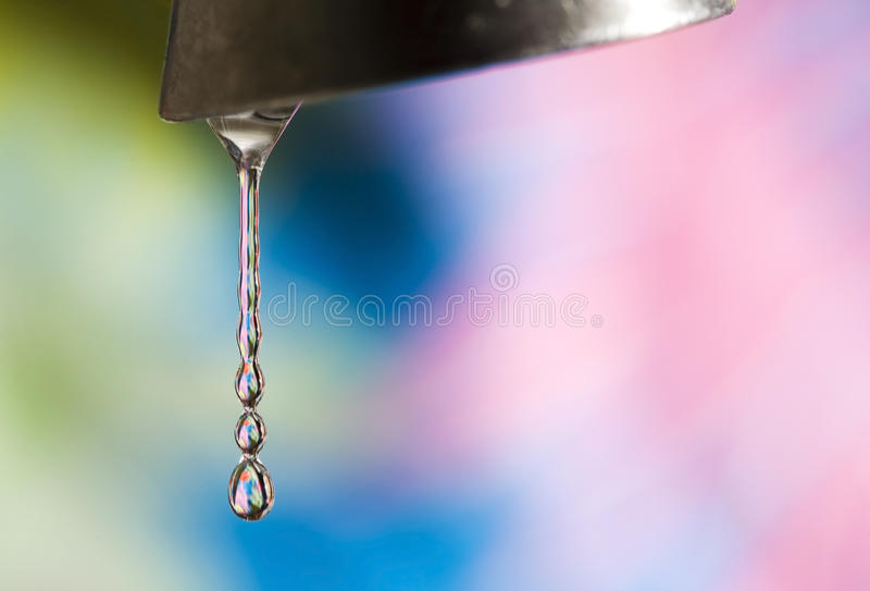 Download Abstract Dripping Water stock image. Image of space, bokeh - 18613469