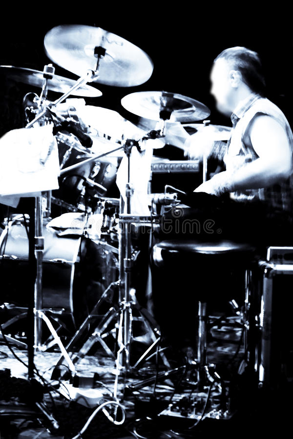 Free Abstract Drummer Concert Stock Image - 14670611