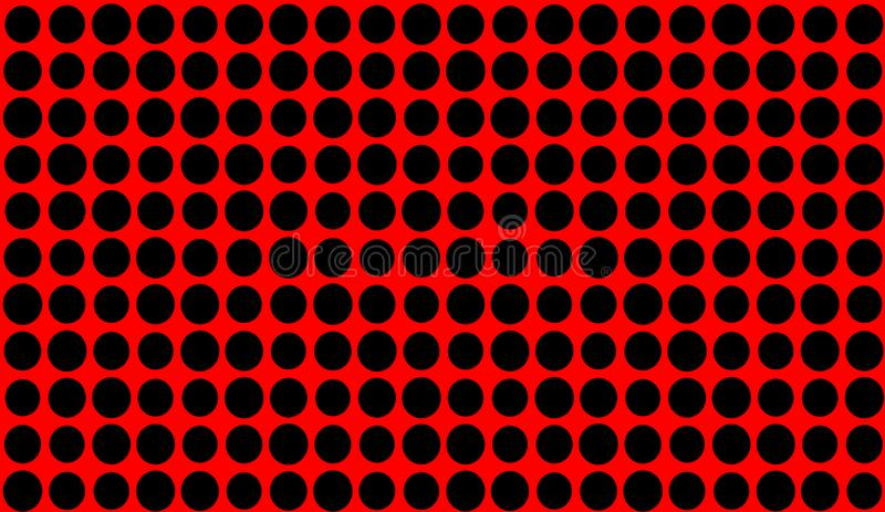 Abstract duotone background . Hypnosis red halftone psychedelic art . Design pattern. Elemet vector illustration