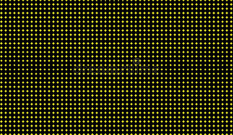 Abstract duotone background . Hypnosis yellow halftone psychedelic art . Design pattern. Element vector illustration