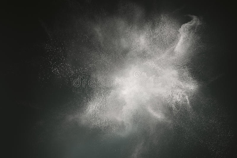 Abstract dust cloud design royalty free stock image