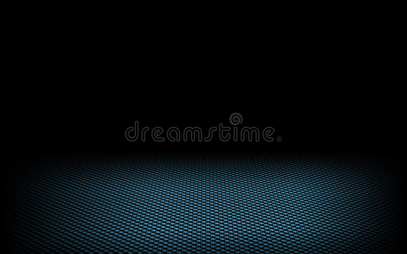 Download Abstract Dynamic Dots Blue On Black Stock Illustration - Image: 13652800