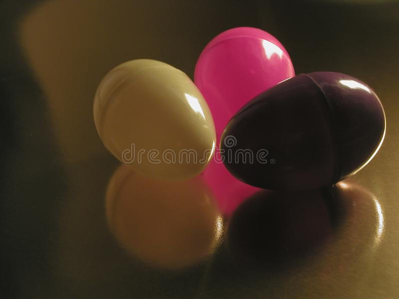 Abstract Easter Eggs Stock Image