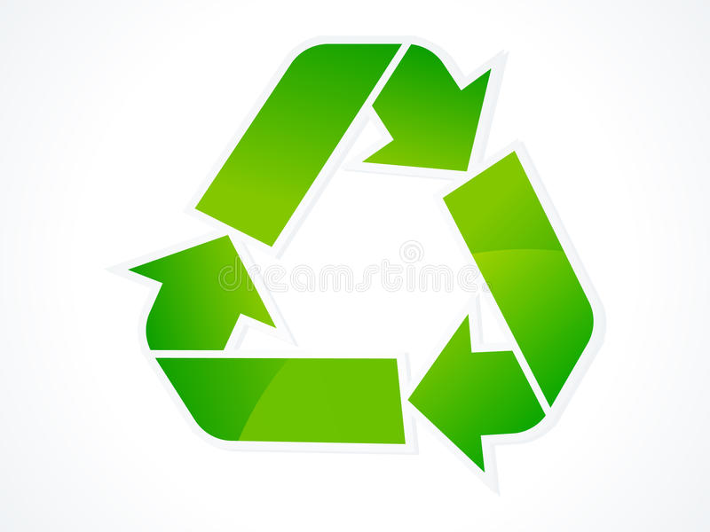 Download Abstract Eco Recycle Icon Royalty Free Stock Photo - Image: 17306835