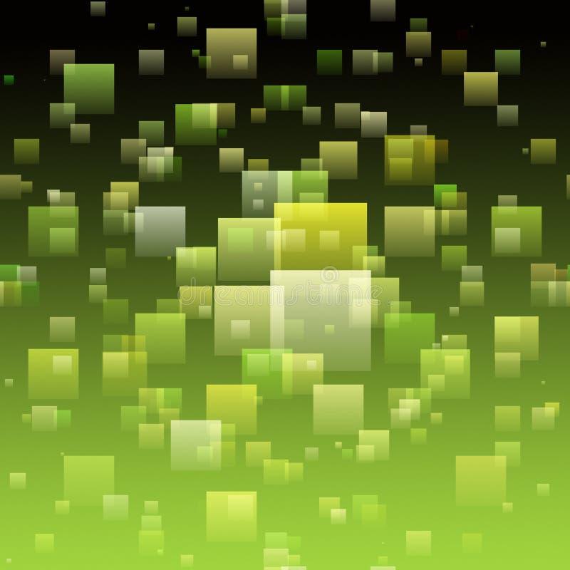 Abstract eco vierkant ontwerp als achtergrond vector illustratie