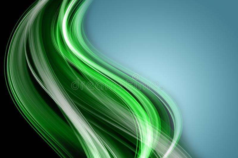 Abstract eco wave design royalty free stock images