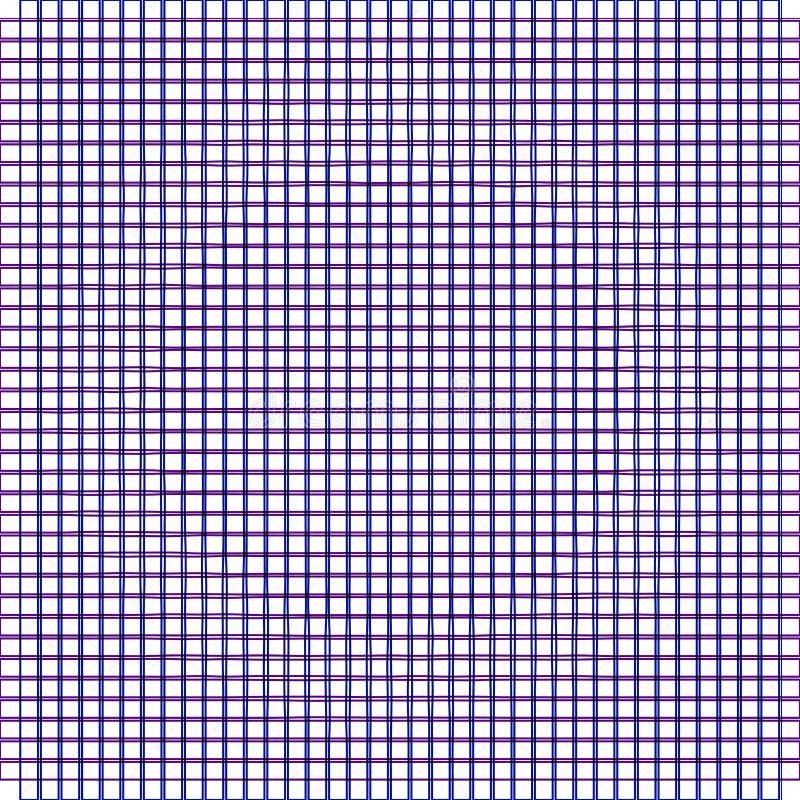 Abstract eenvoudig geruit patroon vector illustratie