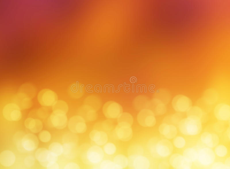 Abstract effect light gold bokeh blur background stock photos