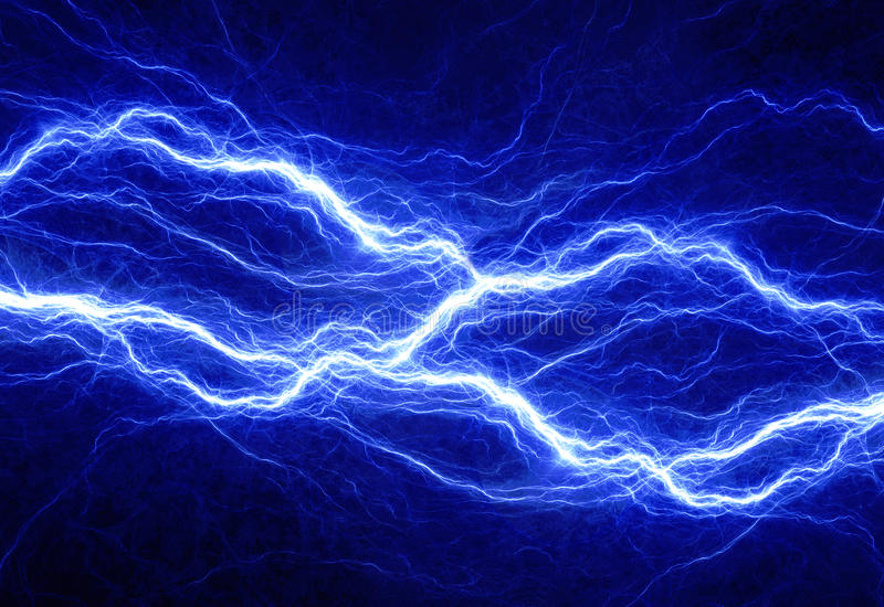 Abstract electrical background stock illustration