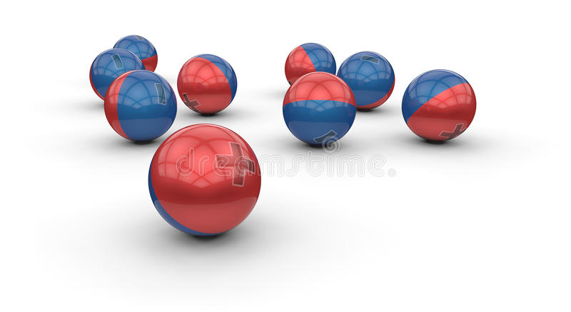 Download Abstract Electrical Spheres Stock Illustration - Image: 28907367