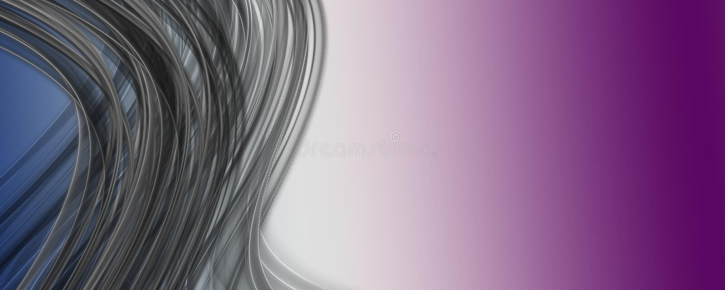 Abstract elegant romantic panorama background design. Illustration stock illustration