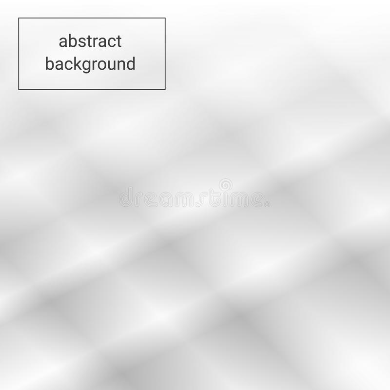Abstract Elegant white and grey Background. Abstract white Pattern. Squares Texture stock illustration