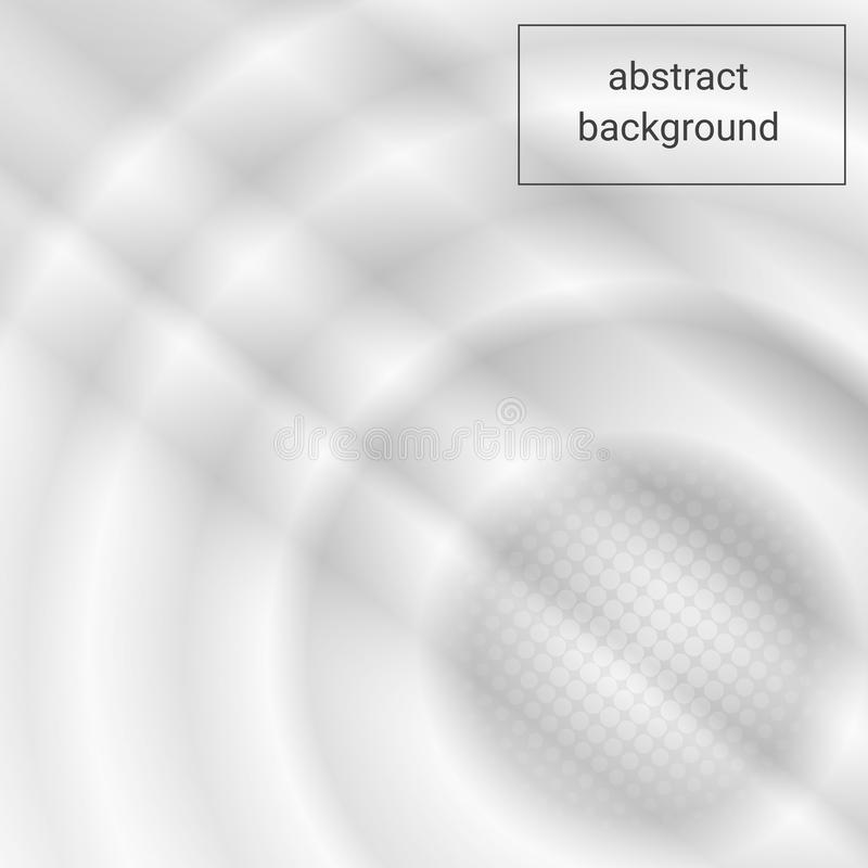 Abstract Elegant white and grey Background. Abstract white Pattern stock illustration