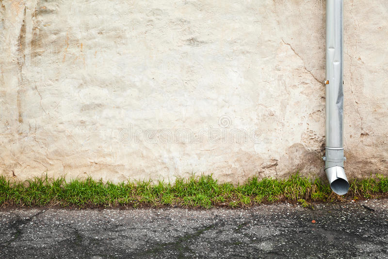 Abstract empty urban background, old wall stock images
