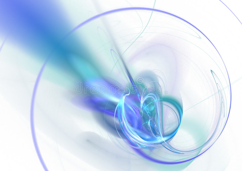 Abstract Energy Layout. A 3D abstract layout you can use as a template for any design piece vector illustration