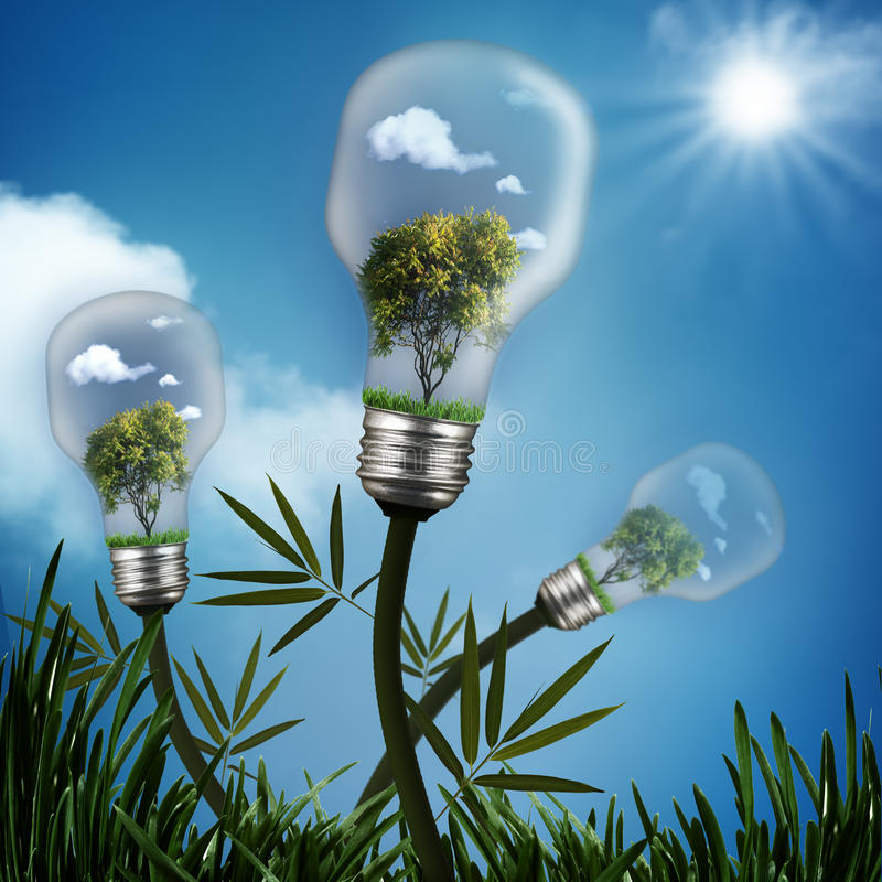Abstract energy savings backgrounds. Abstract energy savings and environmental backgrounds for your design stock images