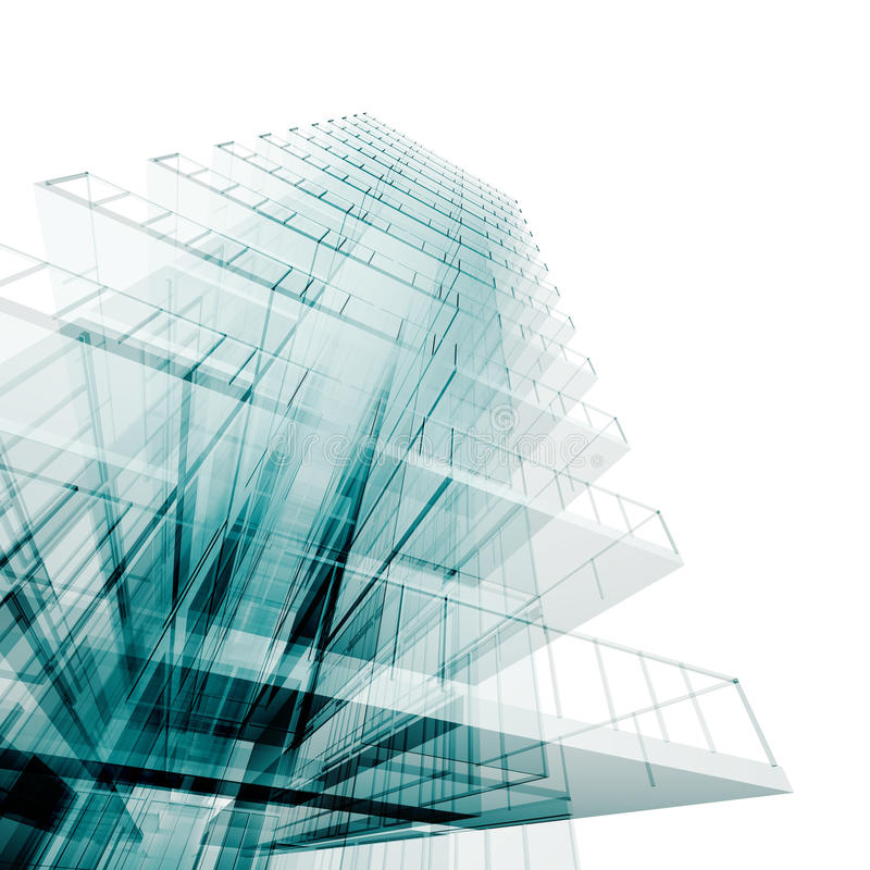 Abstract engineering stock image
