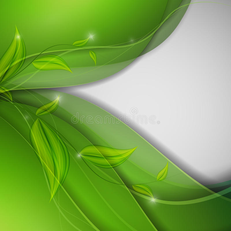 Abstract environmental vector background stock illustration