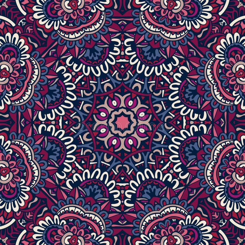 Abstract ethnic seamless pattern ornamental vector illustration
