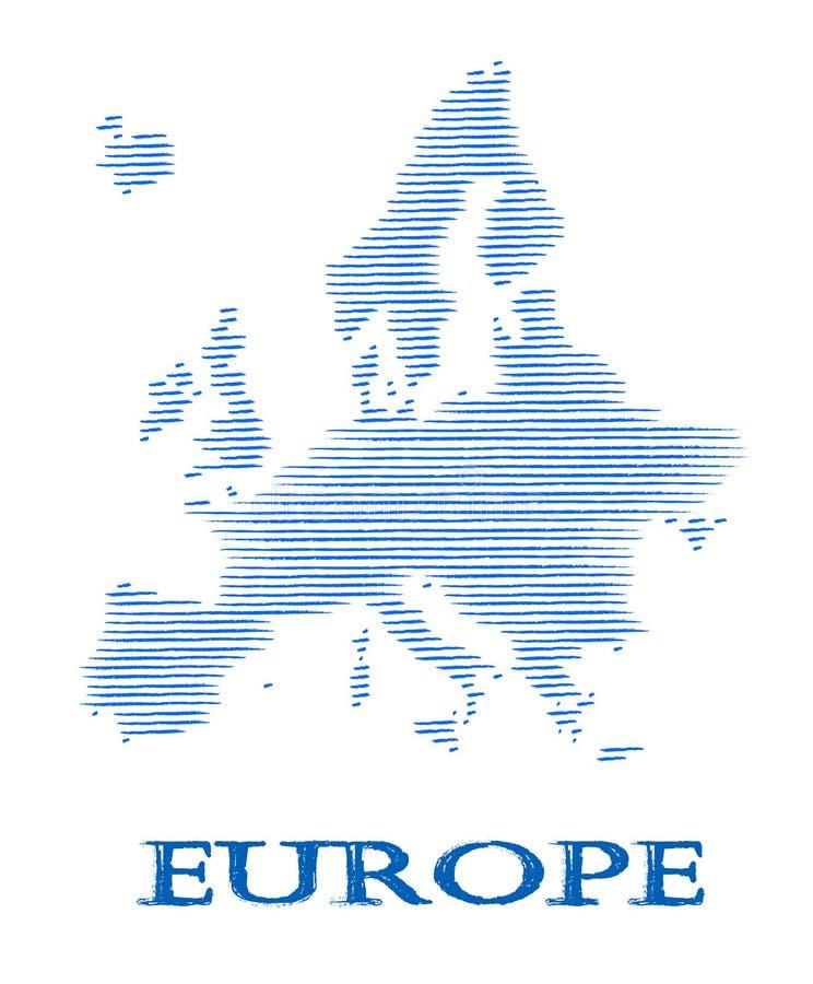 Download Abstract Europe Silhouette. Stock Illustration - Illustration of iceland, deutschland: 34225673