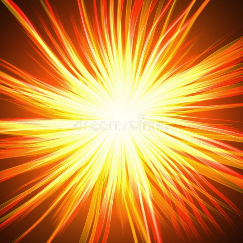 Abstract Explosion Background Stock Illustration Image