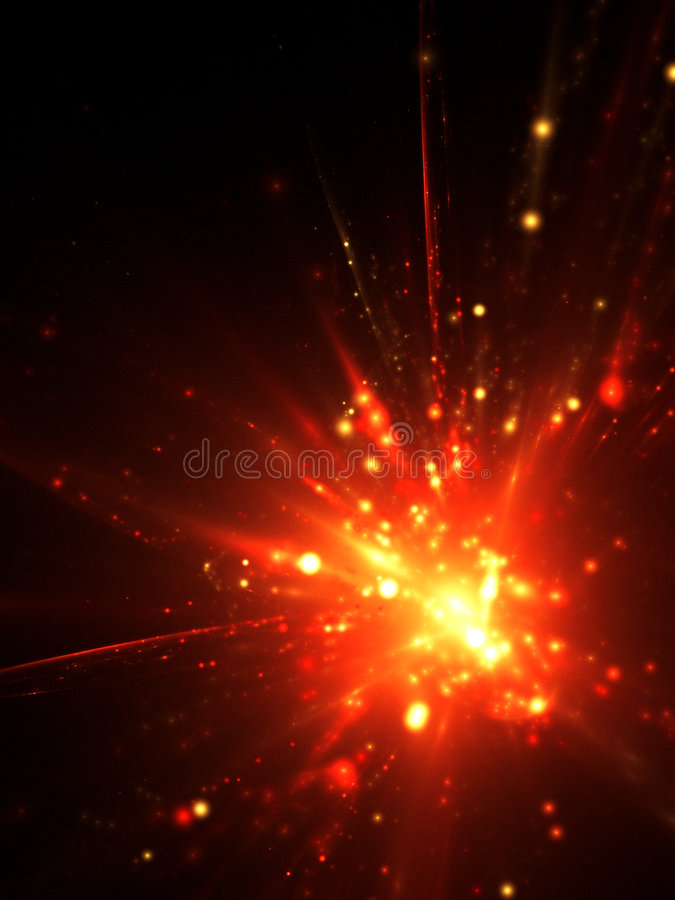 Free Abstract Explotion Background Stock Image - 7209201