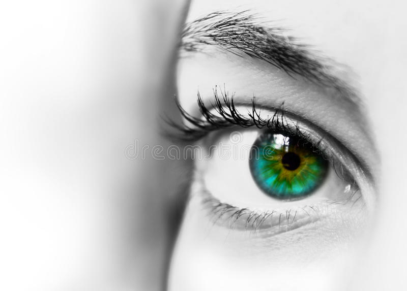 Download Abstract eye stock photo. Image of concept, expectations - 21908296
