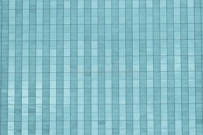 Abstract Facade of Skyscraper in Paris stock image