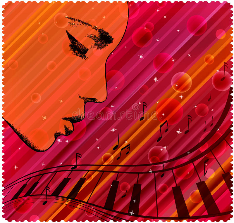 Download Abstract face pattern stock vector. Illustration of elegance - 23005965
