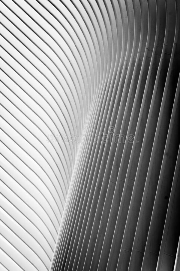 The oculus - abstract detail - Manhattan, New York royalty free stock photography