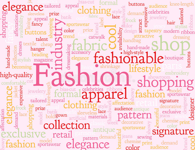 Abstract Fashion Background Stock Vector