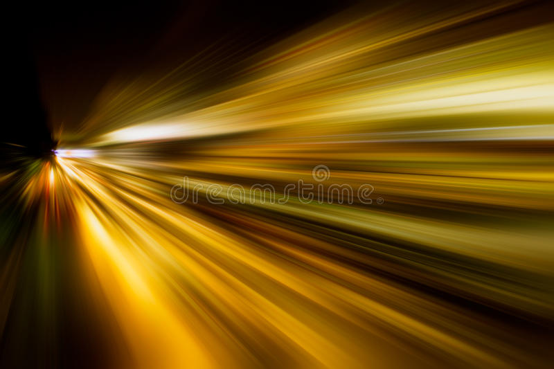 Abstract fast zoom speed motion background for Design.  royalty free stock image