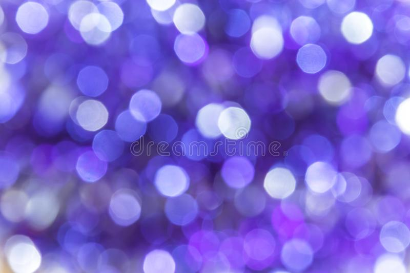 Abstract festive background with bokeh purple violet and blue co stock images