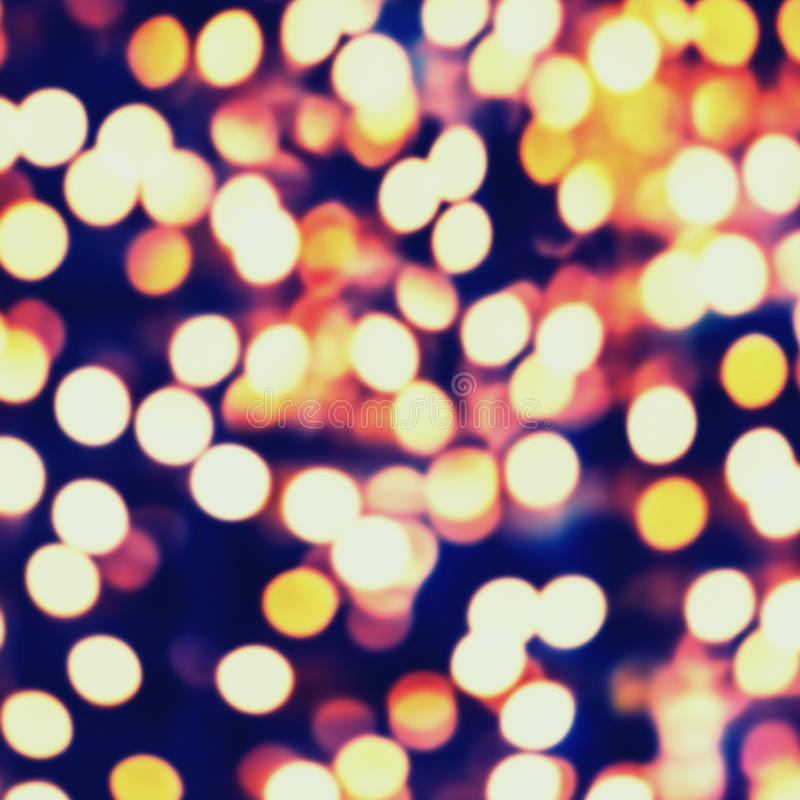 Abstract festive defocused background. Night traffic boke back royalty free stock images