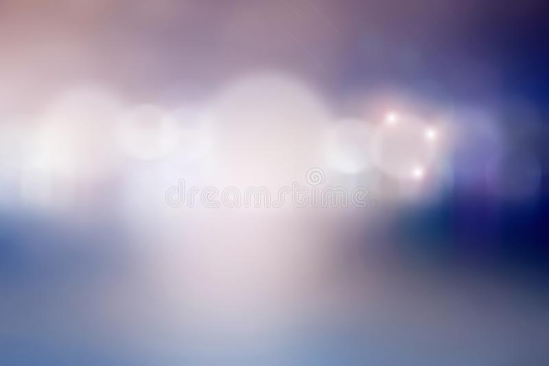 Abstract festive lights background bokeh. Sky and deep space royalty free stock image