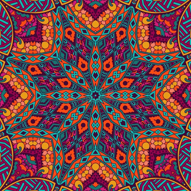 Free Abstract Festive Mandala Ethnic Tribal Pattern Royalty Free Stock Photos - 63469058