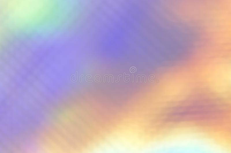 Abstract festive multicolored purple magic rainbow background in different pastel shades royalty free stock photos
