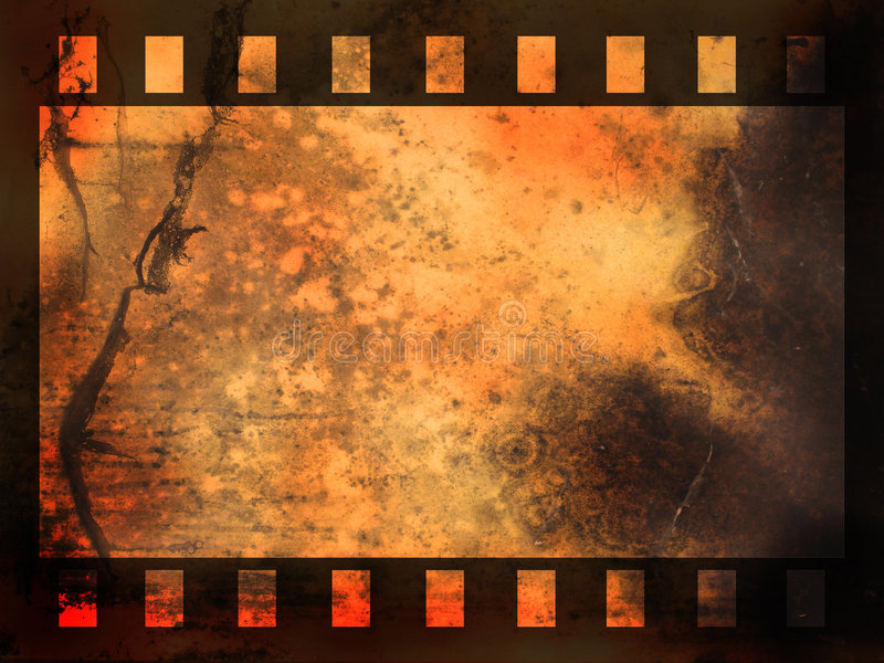 Abstract film strip background vector illustration