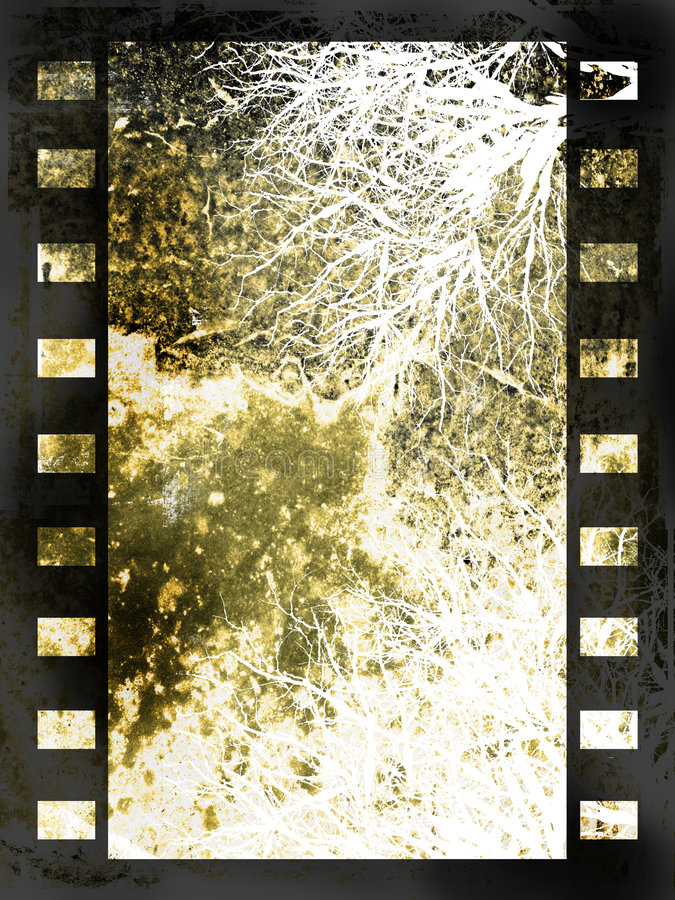 Abstract film strip background royalty free illustration