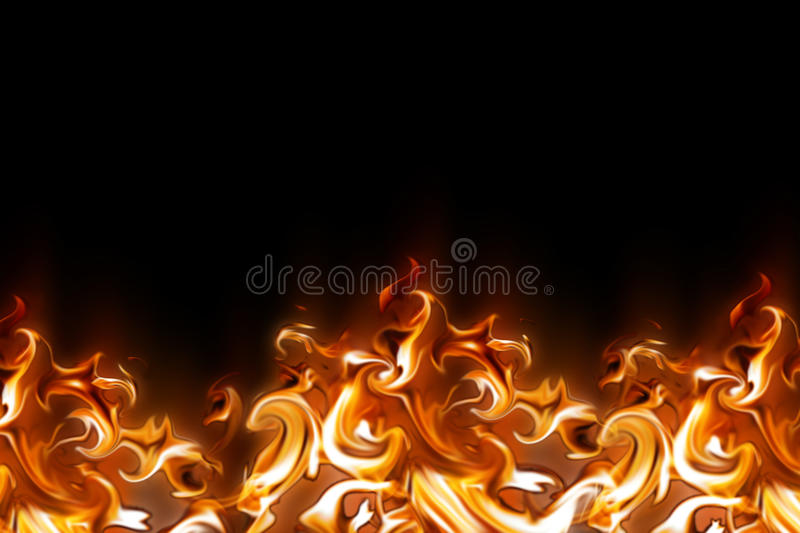 Abstract fire. Ornament - computer generated for your projects vector illustration