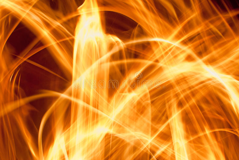 Abstract Fire. Blurred abstract lines of fire royalty free stock photos