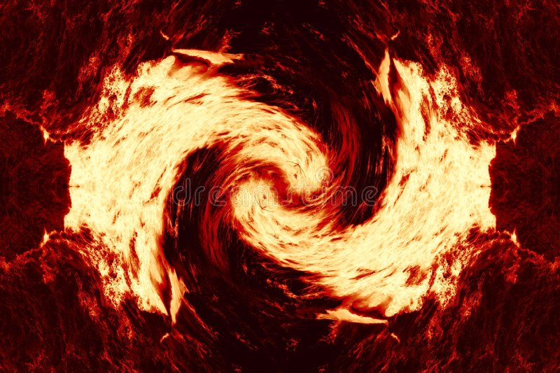 Abstract Fire. Abstract image of fire whirl royalty free stock images