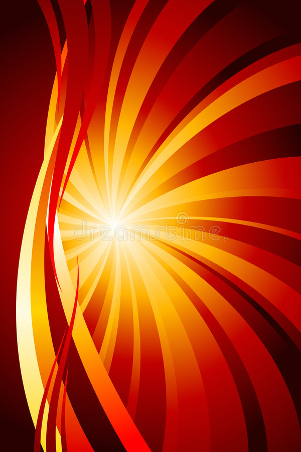Abstract Fire vector illustration