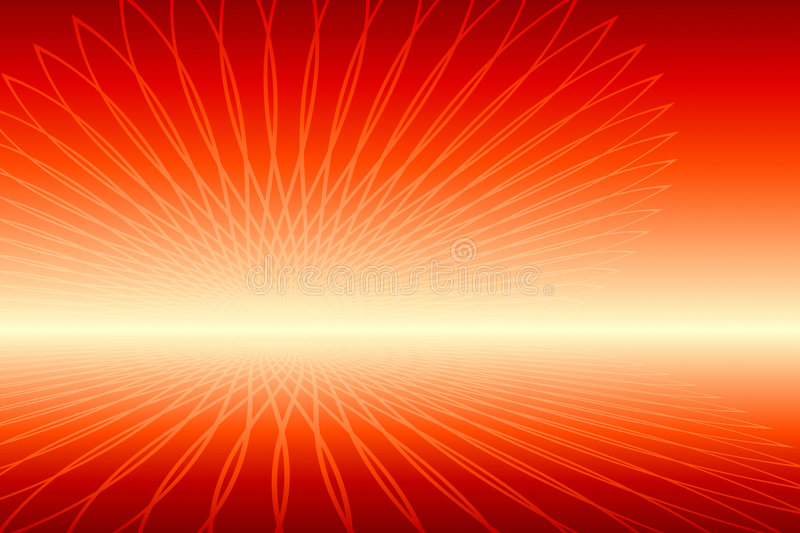 Abstract Fire. Vector illustration of Abstract Fire royalty free illustration