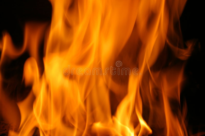 Abstract Fire. Natural Beauty stock photography
