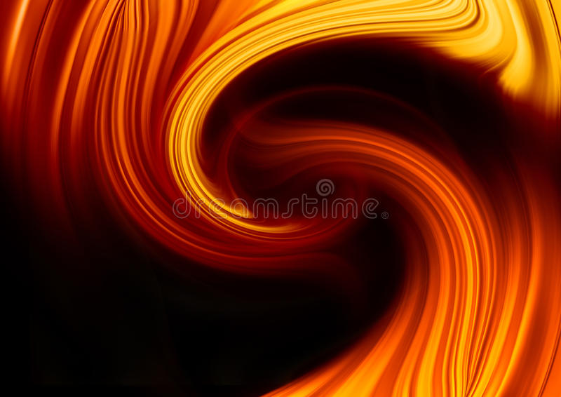 Abstract fire background. Computer generated for your projects royalty free illustration