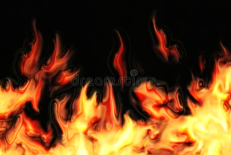 Abstract fire background. Generated by the computer royalty free illustration