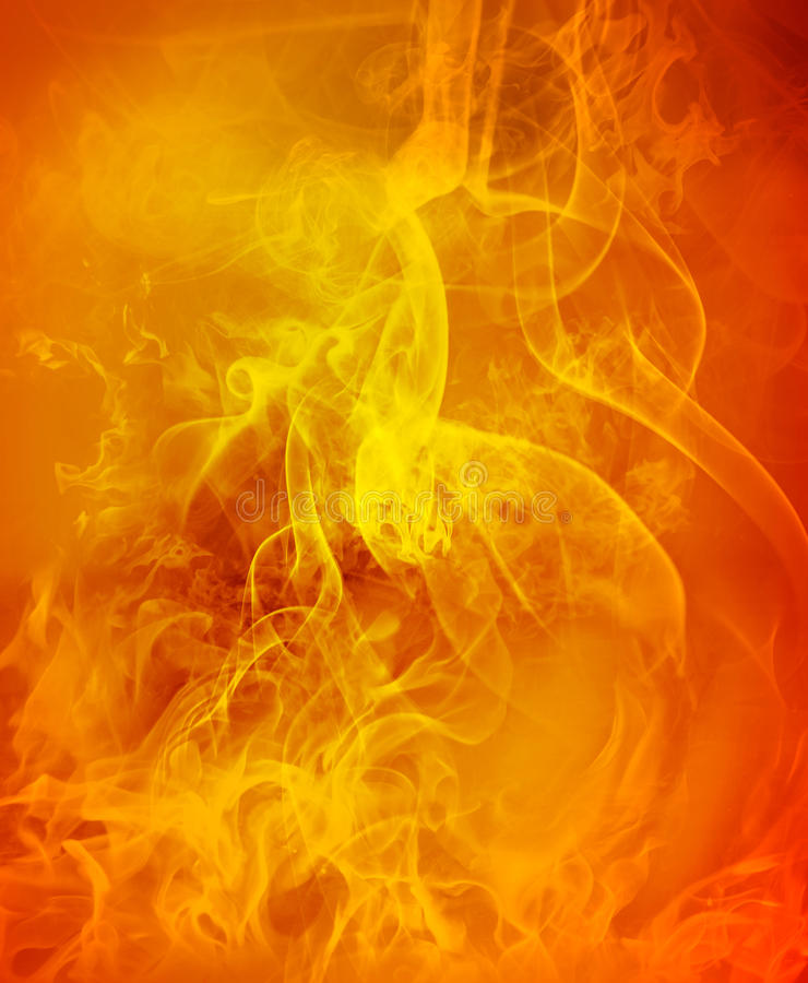 Abstract fire background. Abstract burning hot fire background royalty free stock image