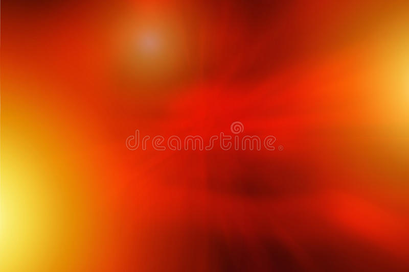 Abstract Fire Background. With Flames royalty free illustration