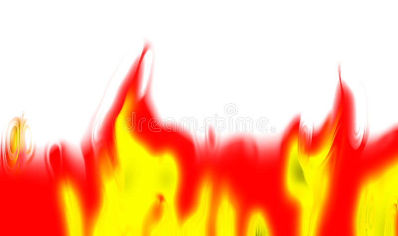 Abstract fire background. Generated by the computer vector illustration